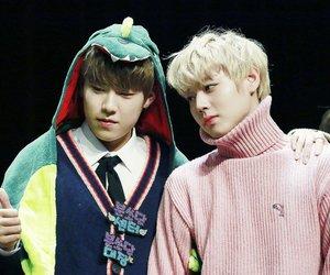 jihoon, wanna one, and woojin image