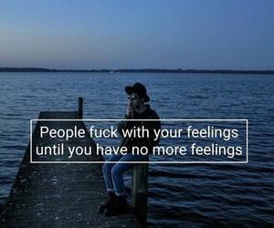 feelings, hurt, and fuck image
