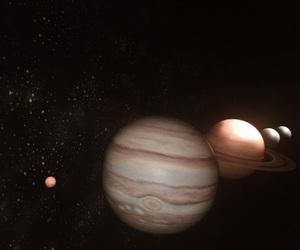 astrology, dark, and jupiter image
