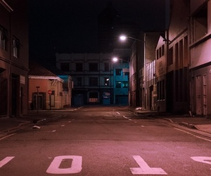 night, street, and grunge image
