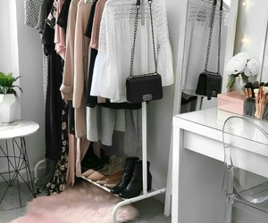 clothes, style, and bedroom image