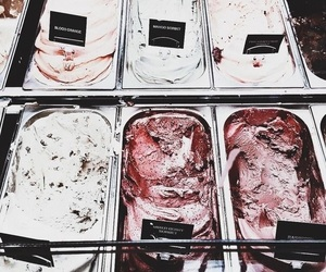ice cream, food, and delicious image