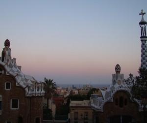 Barcelona, europe, and horizon image