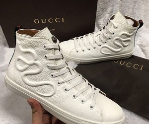 gucci, luxury, and white image