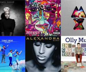 album, coldplay, and maroon 5 image