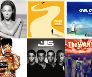 coldplay, maroon 5, and music image