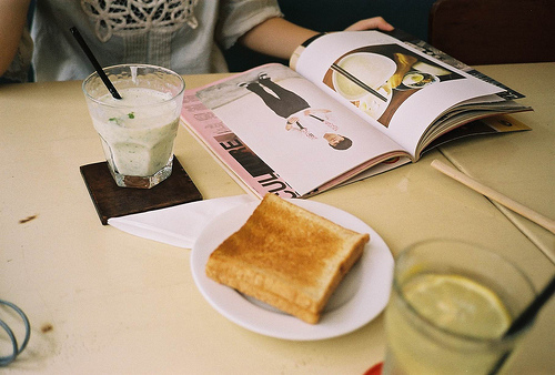 breakfast, hipster, and indie image