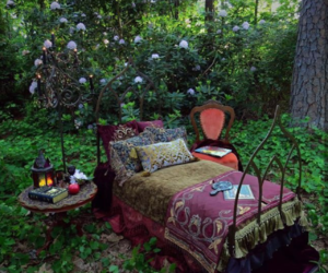 cozy, flores, and green image