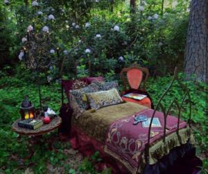 cozy, fantasy, and flores image