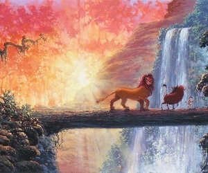 disney, the lion king, and art image