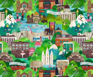 city, cityscape, and landmarks image