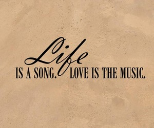 music, life, and song image
