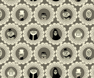 background, Christmas carol, and pattern image