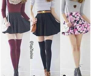 ankleboots, scarves, and skirts image