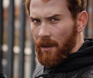 beard, ginger, and man image