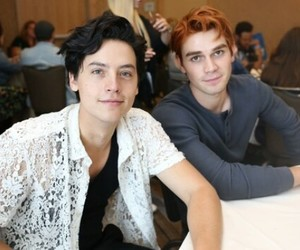 archie andrews, jughead jones, and rivedale cast image