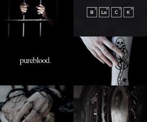 aesthetic, azkaban, and black image