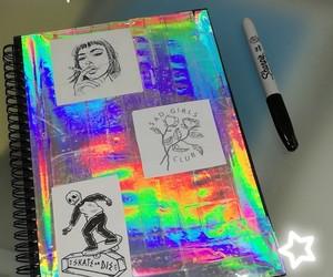 dark, draws, and girl image