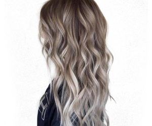 gray, hair, and inspo image