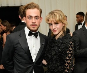 dacre montgomery, natalia dyer, and stranger things image