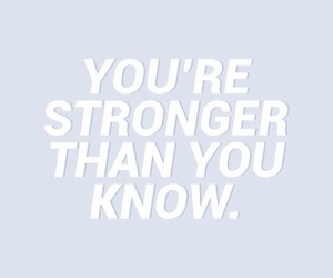 quotes, strong, and blue image