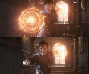 Marvel and doctor strenge image