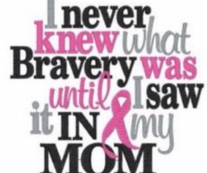 alive, brave, and breast cancer image