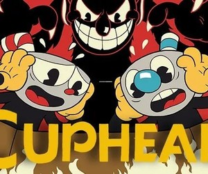 awesome, video game, and cuphead image