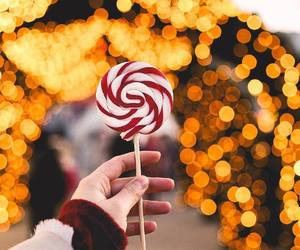 winter, candy, and lollipop image