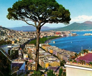 landscape, Naples, and sea image