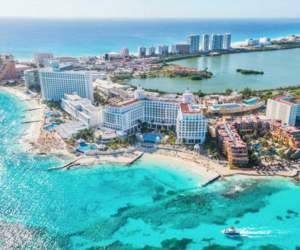 beaches, cancun, and Caribbean image