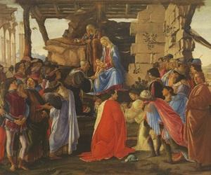 sandro botticelli, florenz, and galleria degli uffizi image