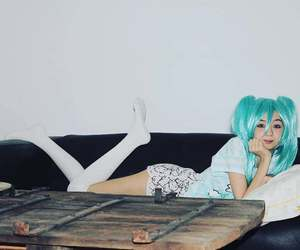 cosplay, girl, and vocaloid image