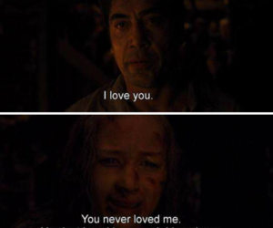 I Love You, you never, and quote image