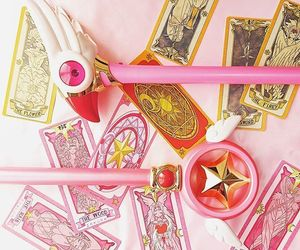 clamp, magical girls, and sakura image
