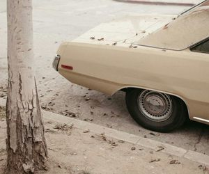 beige, car, and aesthetic image