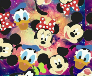 background, girly, and minnie image