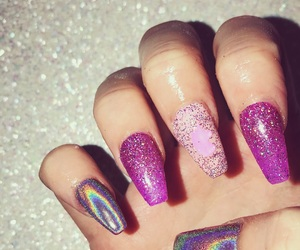 fashion, girly, and glitter image