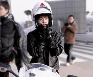 handsome, motocycle, and Jonghyun image