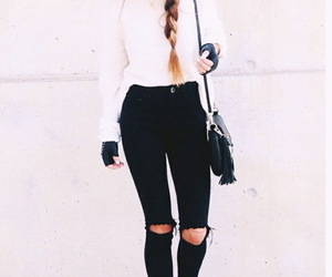 beautifulgirl, black, and outfit image