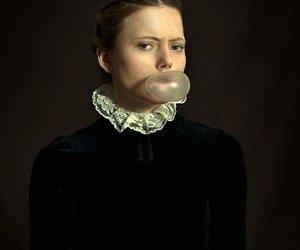 classic, gun, and historic woman image