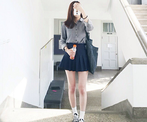 kfashion, asian, and korean image