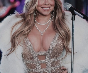 butterfly, gold, and mariah image