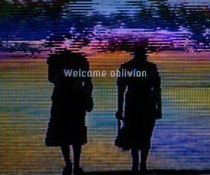 Oblivion, welcome, and grunge image
