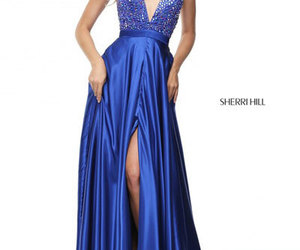 cheap long evening gowns and v neck long prom dresses image
