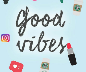wallpaper, good vibes, and girly image