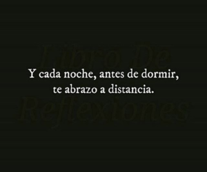 abrazo, amor, and dormir image