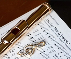 clef, flute, and music image