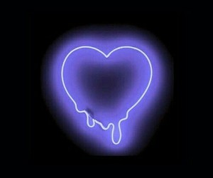 heart, wallpaper, and neon image