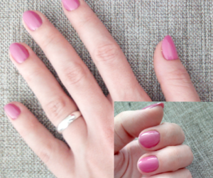 nails, gel nails, and pure color image